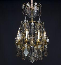 18e eeuwse lustre a cage