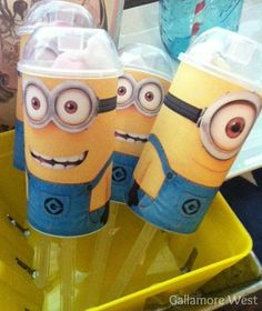Despicable Me 2 birthday ideas