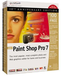 Jasc Paint Shop Pro Picture Tubes