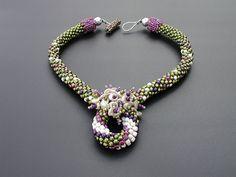 Swirl-ring Necklace by Triz Designs, via Flickr
