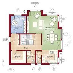 """Im FANTASTIC 161 spiegelt sich unsere ganze Erfahrung und Kompetenz im Bau moderner und zukunftsorientierter Wohlfühl-Häuser wider. Wir vereinen den """"perfekten"""" Grundriss mit absoluter Spitzen-Architektur und hochinnovativer Technik zu einem fantastischen Gesamtkonzept. Auf diese Weise profitieren Sie in Ihrem FANTASTIC 161 von richtig viel """"Best of Bien-Zenker"""" Vorteilen. Individualität steht dabei immer ganz vorne. Sie entscheiden, welche der 2 Dachformen Sie sich wünschen, welches Design…"""