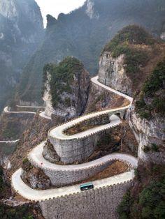 Amazing Snaps: Tianmen Mountain, China. | See more