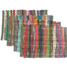 Woolen Clothes, Memory Pillows, Linen Store, Placemat Sets, Patch Quilt, Recycled Fabric, Quilt Top, Hand Weaving, Rainbow