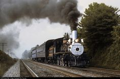 RailPictures.Net Photo: CRR 1 Clinchfield Railroad Steam 4-6-0 at Slant, Virginia by Ron Flanary