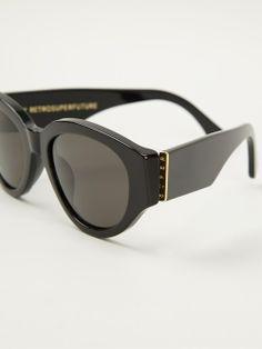 Women - Retro Super Future 'Drew Mama' Sunglasses - WOK STORE