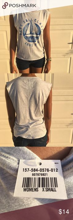 Brand new Abercrombie and Fitch muscle tank top! Material is very light and soft! Could also fit a small. Abercrombie & Fitch Tops Muscle Tees