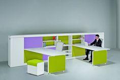 Colourful office desk range