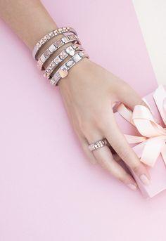 Personalized name necklaces, bracelets & letter pendants Nomination Charms, Nomination Bracelet, Letter Pendants, Letter Necklace, Delicate Jewelry, Bangles, Bracelets, Friends Forever, Initials