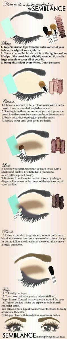 20 Eye Shadow Hacks, Tips, And Tricks Every Girl Needs To Know