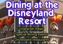 Everything You Need to Know About Dining at the Disneyland Resort