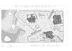 Main Library, Modern Library, Oslo S, Library Organization, Ground Floor Plan, Architecture Plan, Lund, Geometry, Facade