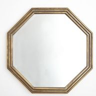 Gilded Octagon Mirror - New