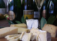 Pairing Sparkling Wine With Cheese: Article by Meg Maker that feature J sparkling wines!