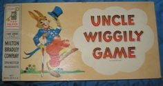 Uncle Wiggly Game...*I remember that I loved this game, and recently bought one on eBay, but there are no directions, so I don't really recall how to play.