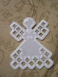Image result for hardanger angel pattern