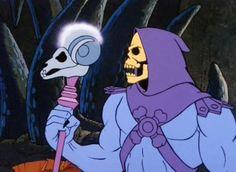 Image result for skeletor staff