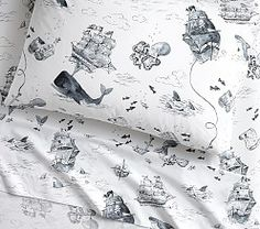 Boys' Sheets, Boys' Sheet Sets & Boys' Bed Sheets | Pottery Barn Kids