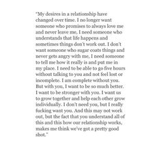Desires for a new relationship ♡