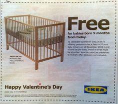 ikea valentine's day ad