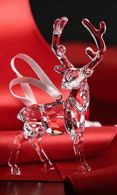 Swarovski 2015 Stag Ornament