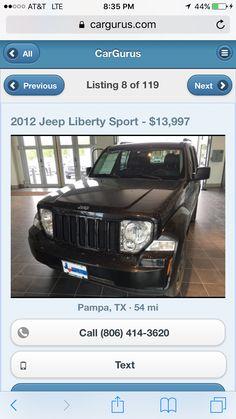 Pampa tx Jeep Liberty 13,000 leather