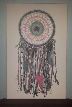 String Art Bohemian Dreamcatcher by jalengraycreations on Etsy