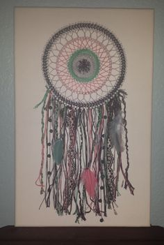 String Art Bohemian Dreamcatcher by jalengraycreations on Etsy