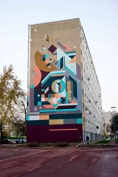 Nelio, Venissieux, Lyon, France