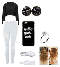 """""""Untitled #17"""" by maribeltheflower on Polyvore featuring Topshop, Vans, Caso and Annoushka"""
