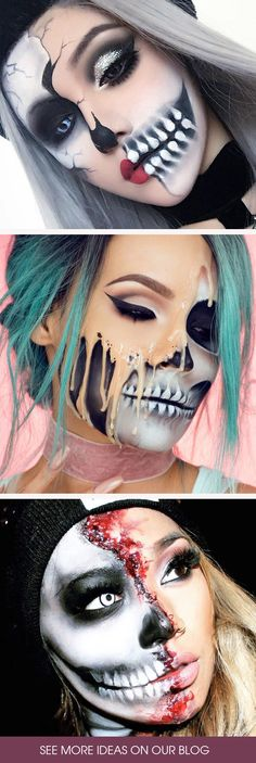 Skeleton makeup is not for everyone. But those who choose it should be able to make themselves look unique. That is what we are here for!
