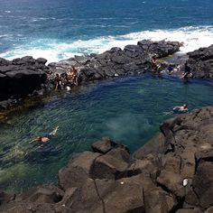Queen's Bath Kauai- my first time swimming here and NOT the last!!!! WOW!