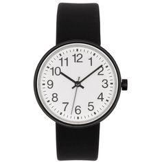 無印良品   腕時計・Solar Watch・黒バンド:黒革 型番:MJ‐SWB1 通販