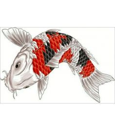 Fish Art , A symbol of VASTU , Painting on CANVAS With FRAME Size - 71x46 CM