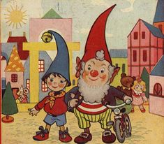 Noddy Illustrated by Harmsen Van Der Beek. Loved my Noddy and Big Ears book so much when I was little and still have it :)