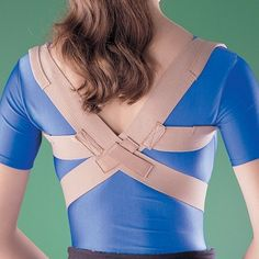 Oppo Medical Elastic Posture Aid /Clavicle Brace (Unisex; Natural) X-Large