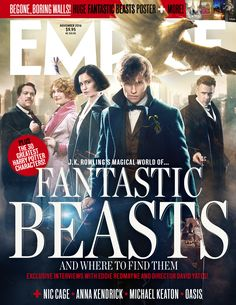 Empire November 2016 - Fantastic Beasts And Where To Find Them