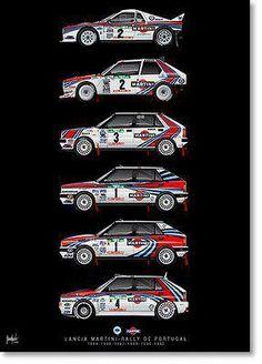 Lancia rally car evolution