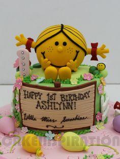 Gemma Little Miss Sunshine Book Birthday Cake Job Photos - Little miss birthday cake