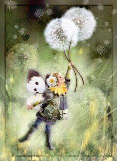 Paintings by Miharu Yokota
