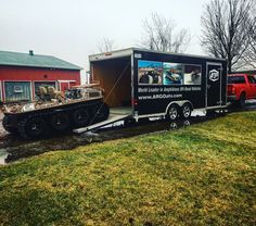 Getting the Argo ready for our northern trapping expedition, 4 feet of snow, brush, and water is no match for this beast! Argo, World Leaders, Offroad, Beast, Outdoors, Trucks, Snow, Vehicles, Water