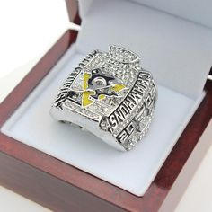 2009 Pittsburgh Penguins Stanley Cup Championship Ring For men – Fashion For Women Store
