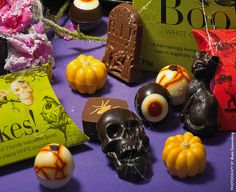 Staying in this Halloween? Our scary selection will keep you company, they're just too good to share! http://www.hotelchocolat.com/uk/shop/gift-ideas/halloween-treats