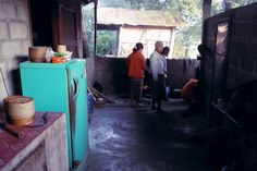 Kitchen at our home in Ban Na, Laos http://twistedfootsteps.com/vientiane-ban-na-homestaying-hiking-puking/