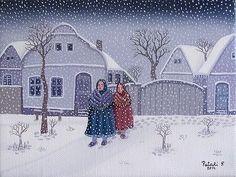 Snowfall by Ferenc Pataki