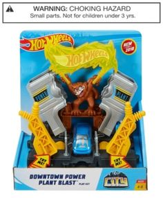 Check out the Hot Wheels City Downtown Power Plant Blast Play Set at the official Hot Wheels website. Explore the world of Hot Wheels City today! Getting Hungry, City Car, Hot Wheels Cars, Toddler Toys, Toddler Activities, Toys For Boys, Kids Toys, Cool Toys, Crafts For Kids