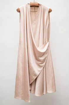 I gravitate toward structured dresses, but a wrap dress would be great. Satin Wrap Dress by Heist Mode Hijab, Draped Dress, Indian Designer Wear, Designer Dresses, Fashion Dresses, Style Inspiration, Style Ideas, Outfits, Clothes For Women