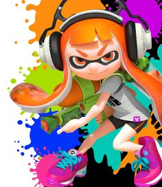 Splatoon Poster. This looks like such an amazing game. Sooooo want.