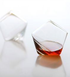 Whiskey tumblers - swirls when the glasses are set down, assisting the oxygenation process that unlocks full aroma and flavor.