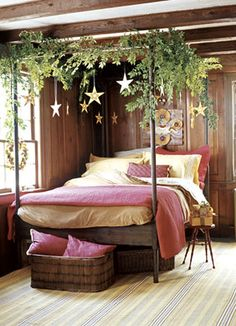 Bohemian Bedroom Canopy bohemian bedroom | the #bohemian, #bohemian bedroom. dark green