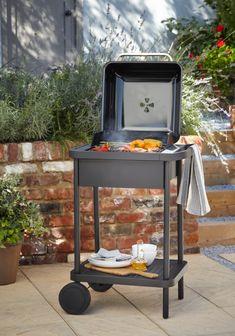 Le barbecue Blooma Rockwell, véritable allié de vos soirées d'été ! #castorama #inspiration #decoration #ideedeco #amenagement #tendancedeco #jardin #abridejardin #decojardin #barbecue